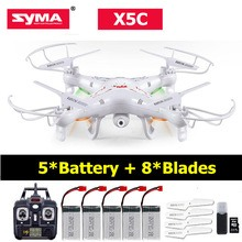 Syma x5c With 5 Batteries