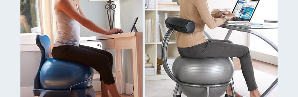 Remarkable Gaiam Balance Ball Chair Cover Custom Fit Adjustable Balance Machost Co Dining Chair Design Ideas Machostcouk