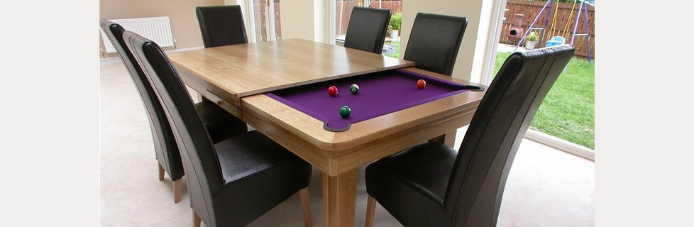 Pool Table Dining Conversion Top Combo, Pool Table Dining Room Conversion