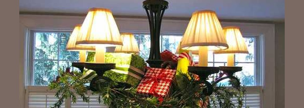Christmas Chandelier Shades Lamp Small Decorations A ...
