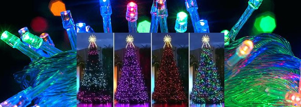Led Christmas Tree Lights That Change Colors Multi Color