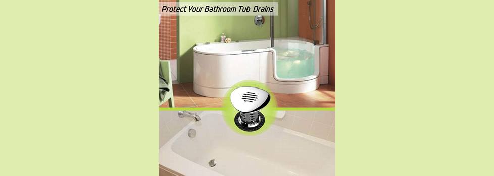 Stainless Steel and OXO Good Grips Easy Clean Shower Stall Drain Protector